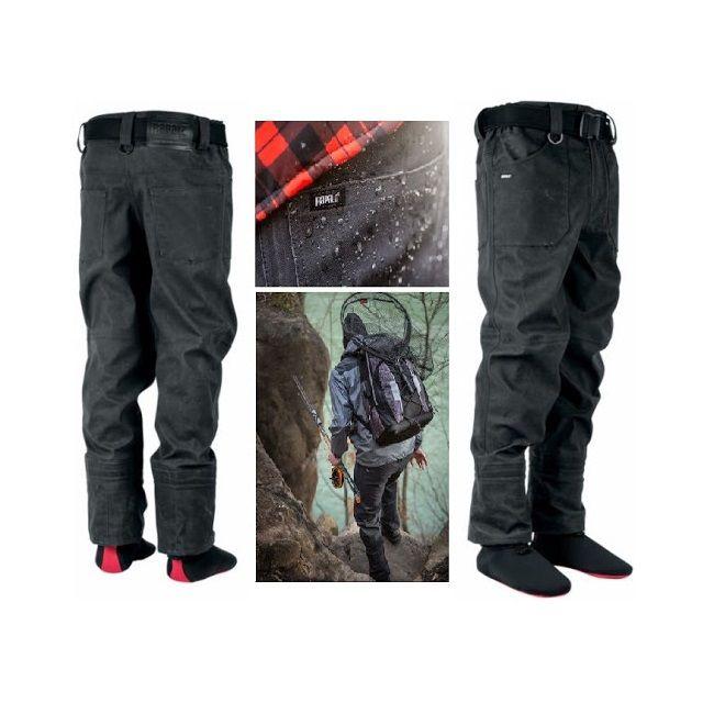 Rapala Pants RTJG Bretable Tactics Wading Jeans Grey